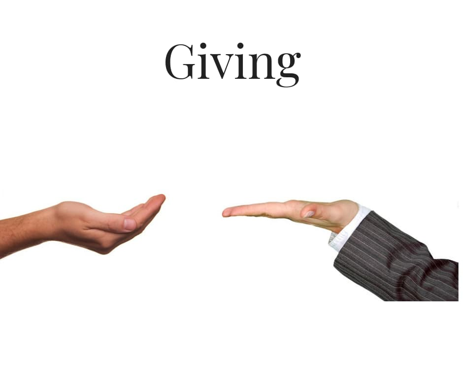 Giving – The Poem